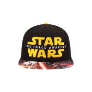 Star Wars Episode VII Force Awakens Viza Print Hat - http://bit.ly/1UdjVZg