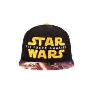 Star Wars Episode VII Force Awakens Viza Print Hat - http://bit.ly/1UdjVZg