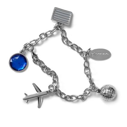 Boeing Charm Bracelet - http://bit.ly/1NonoD2