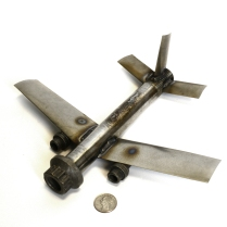 Boeing Engine Parts Airplane Sculpture