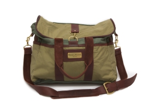 Sword & Plough Signature Messenger Bag - Green