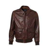 Schott A-2 Style P-51 Mustang Cowhide Leather Jacket