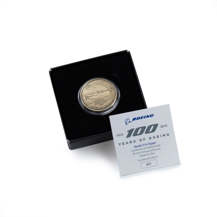 Centennial Heritage Model 314 Clipper Bronze Coin