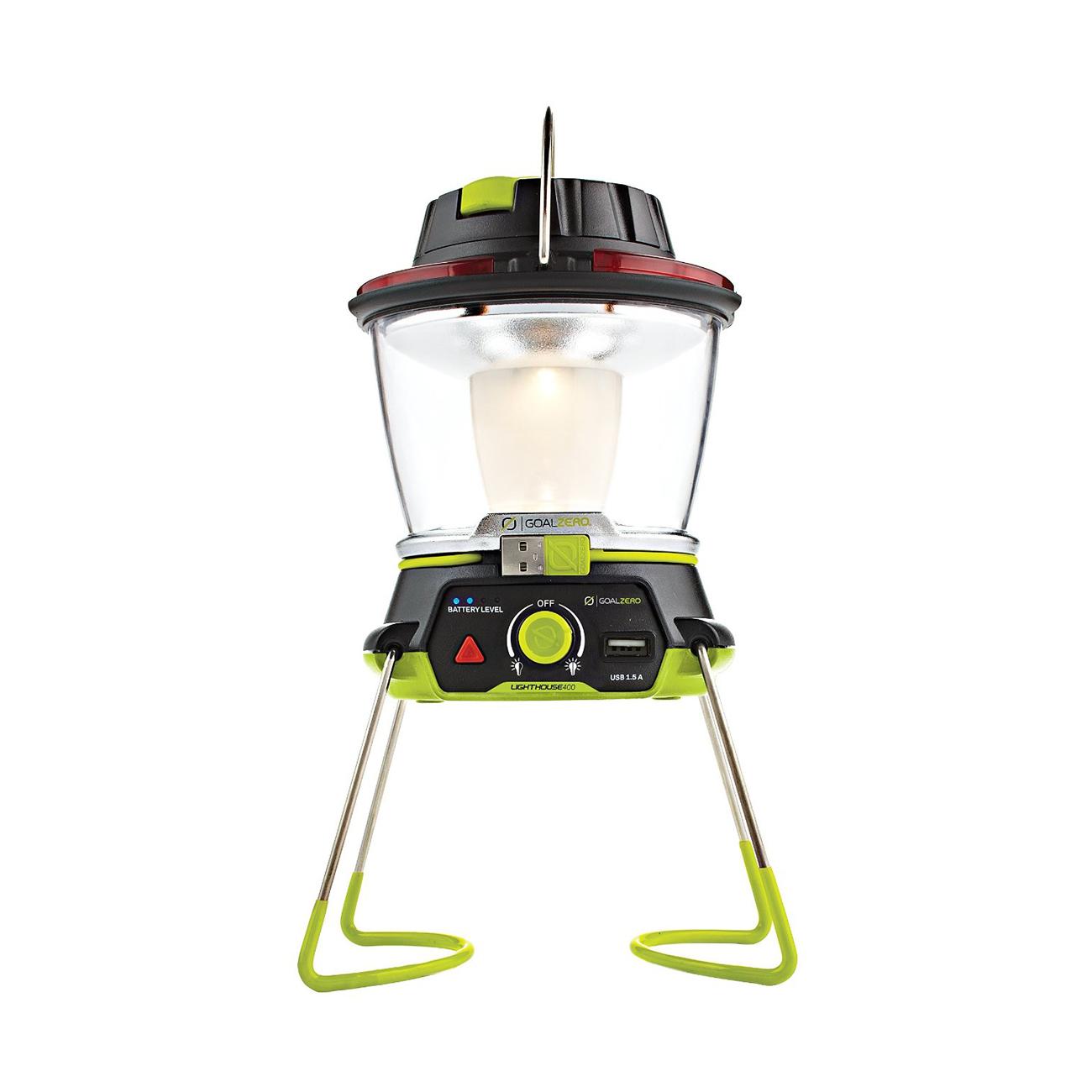 Goal Zero Lighthouse 400 Lantern and USB Power Hub - bit.ly/2fVAEmP