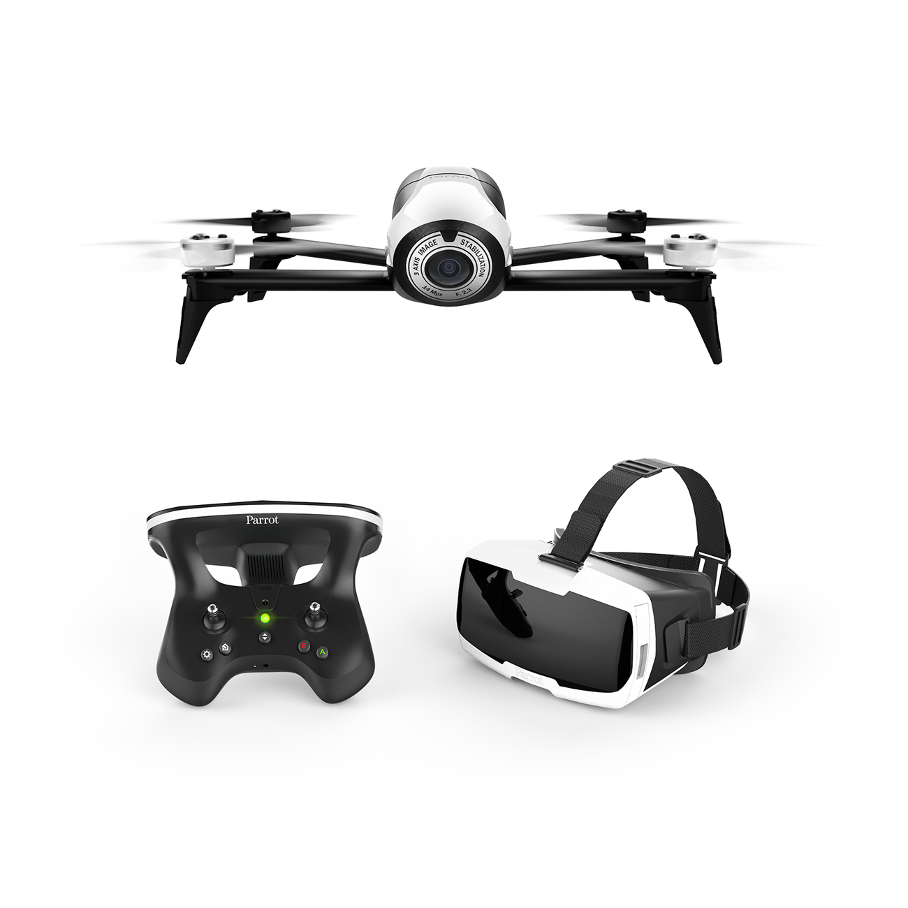 Parrot Bebop 2 FPV Drone With Skycontroller