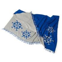 Jet Snowflake 2016 Blanket