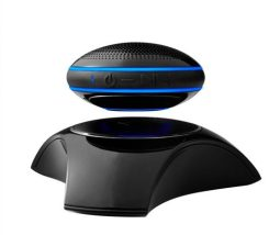 JAM Levity Levitating Bluetooth Speaker: This cool speaker/charger is a must for the techie in your life. https://www.boeingstore.com/products/jam-levity-levitating-bluetooth-speaker