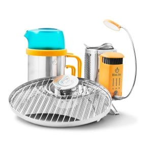 BioLite CampStove 2 Bundle: Who wouldn't want to charge their phone while grilling meat? This campstove combines funtionality with innovative style - perfect for any Dad or Grad. https://www.boeingstore.com/products/biolite-campstove-2-bundle