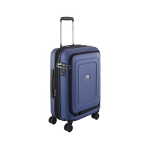 """Delsey Cruise 21"""" Carry-On: Got a Grad headed out to college or coming home for the holidays? This hardside travel piece is great for all their carry-on travel needs! https://www.boeingstore.com/products/delsey-cruise-lite-21-hardside-carry-on-spinner-trolley"""