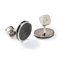 787 Dreamliner Carbon Fiber Cufflinks: Keep your Dad or Grad looking sharp with these stainless-steel cufflinks with inlays made out of carbon fiber upcycled from the 787 Dreamliner production process. https://www.boeingstore.com/products/787-dreamliner-carbon-fiber-cufflinks